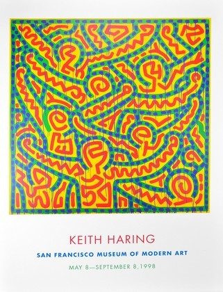 Keith Haring Untitled (1989)
