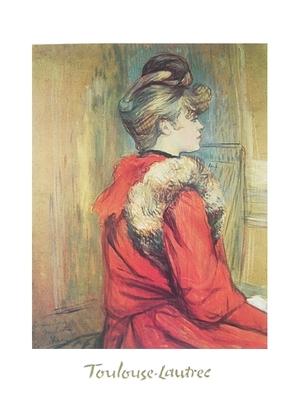 Henri Toulouse-Lautrec Maedchen mit Pelz