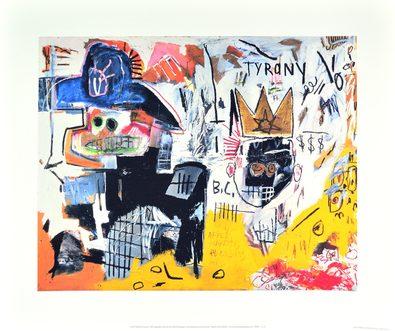 Jean-Michel Basquiat Untitled (Tyrany) 1982