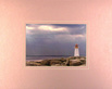 Wolfe art lighthouse nova scotia medium