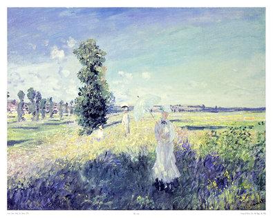 Claude Monet La Promenade (Argenteuil)