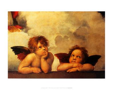 Raffael Sistine Madonna (detail)