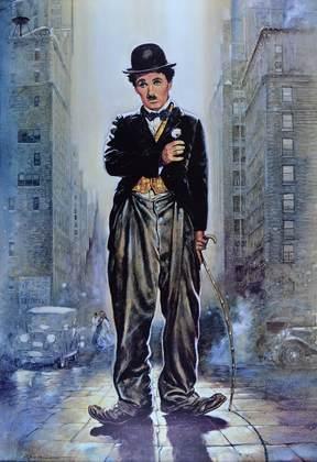 Renato Casaro Lichter der Grossstadt, Charlie Chaplin