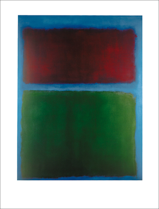Marc Rothko Earth and green, 1955