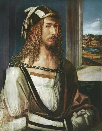 Albrecht Duerer Selbst Portrait  1498