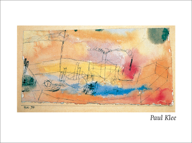Paul Klee Der Fisch im Hafen