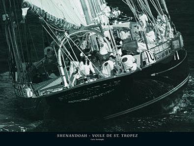 Carlo Borlenghi Shenandoah Voile de St Tropez
