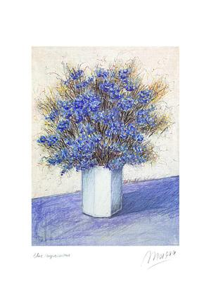 Morgan 2er Set 'Blue Impressions' + 'Evening Still Life'